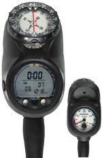 Sherwood Insight 3-Gauge Computer with Compass (Closeout-Final Sale) CR3709M-SH e009470
